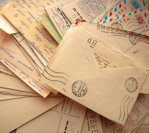 pile of old letters