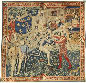 Henry VIII and Francis I at the Field of Cloth of Gold